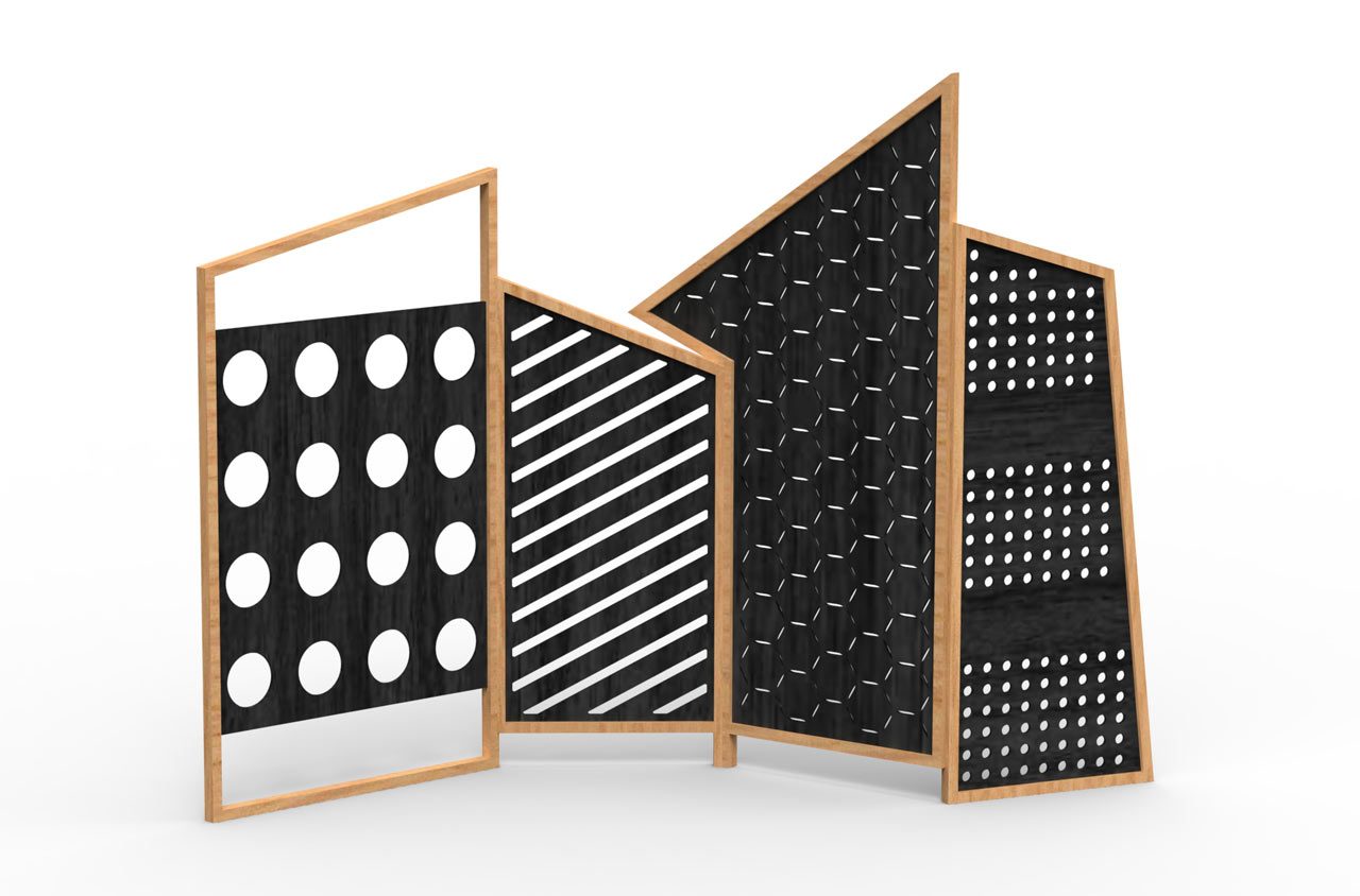 Folding Screens and Tapparelle from Cole Italian Design Label