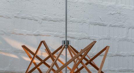 Born from Myth: ARIANNA Lamp by Baldessari e Baldessari