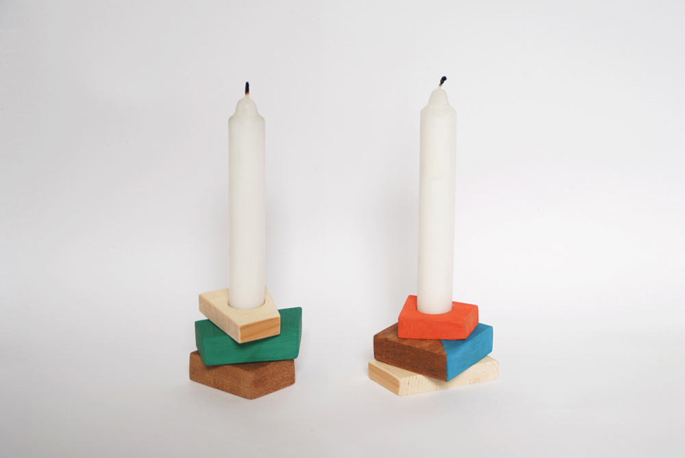 Pile: Make Your Own Candle Holders by Beatriz Nuño
