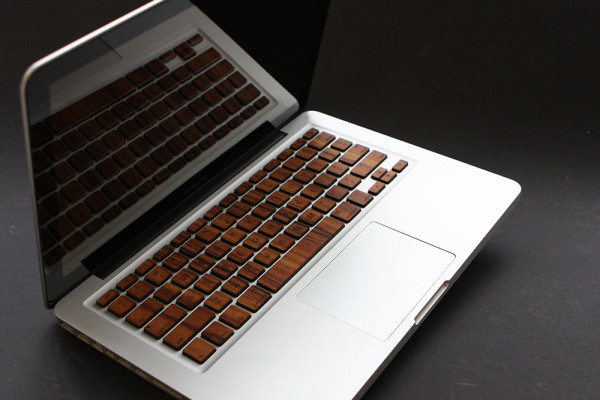 Macbook Wood Keyboard from RAWBKNY in technology Category