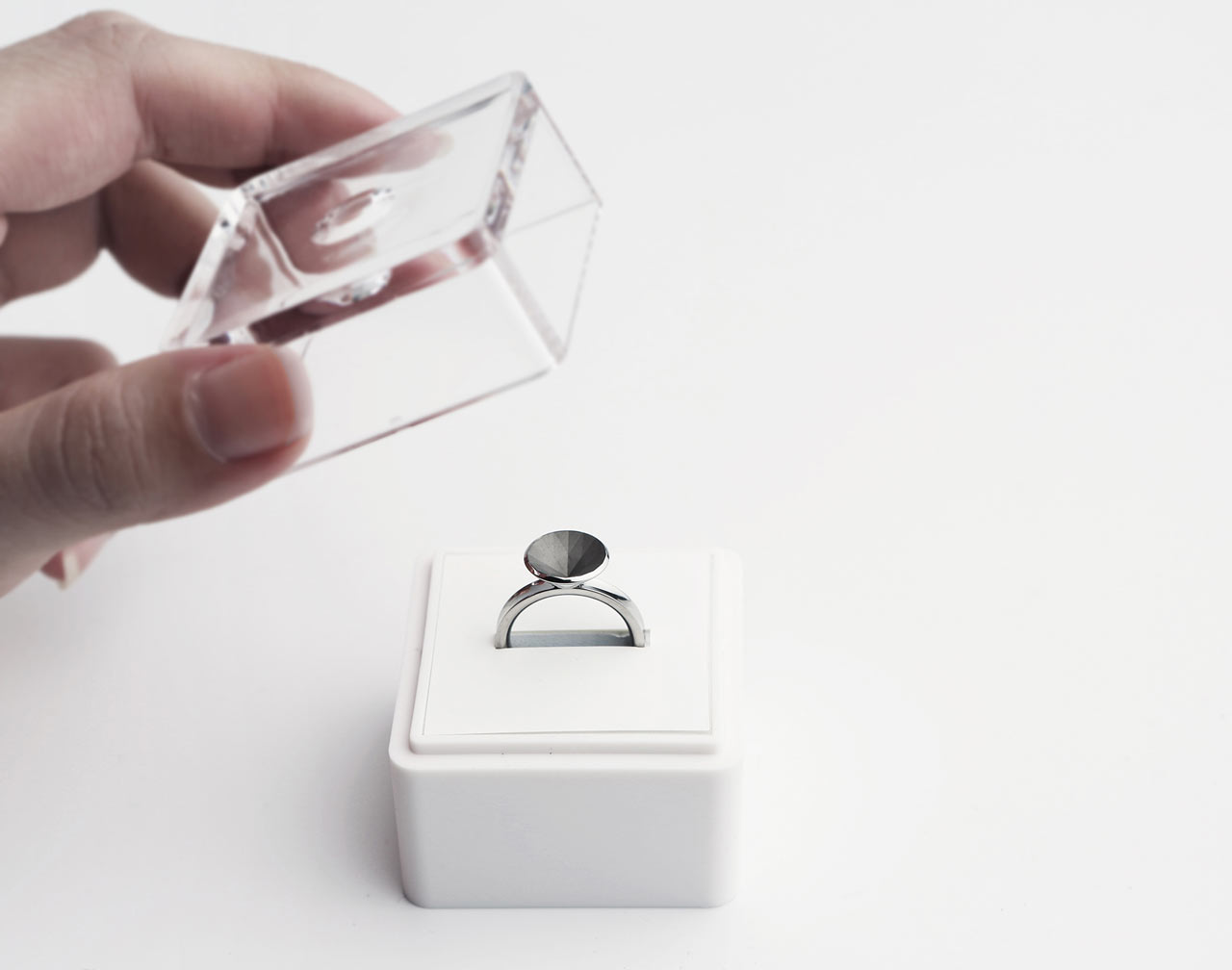 Invisible Love Ring by Sasha Tseng