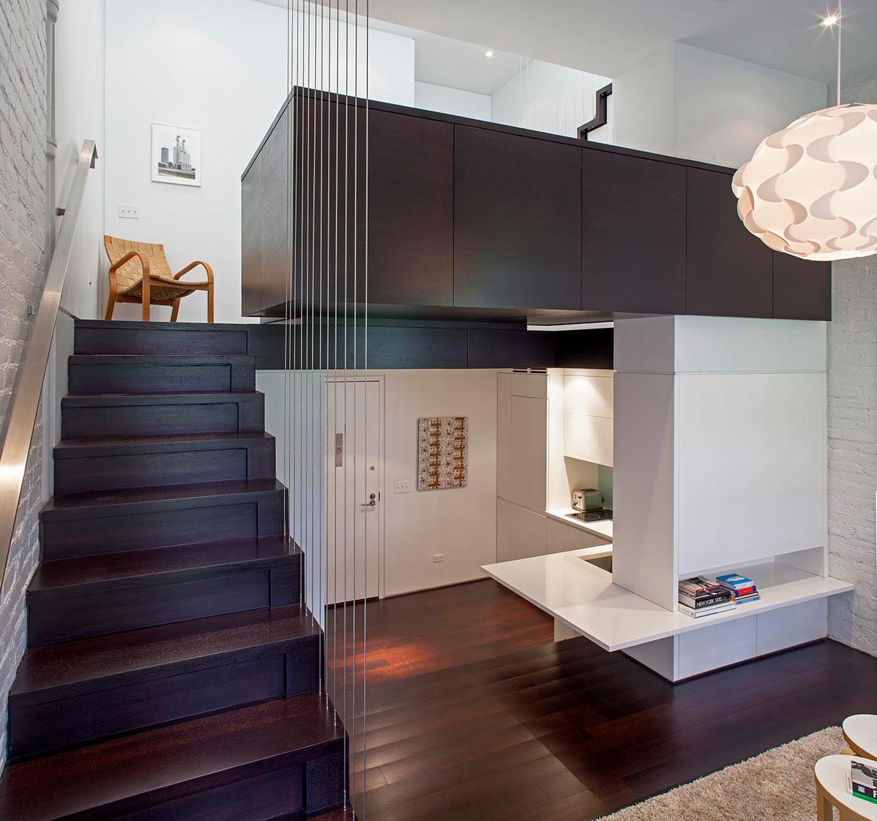 manhattan micro loft by specht harpman architects design milk