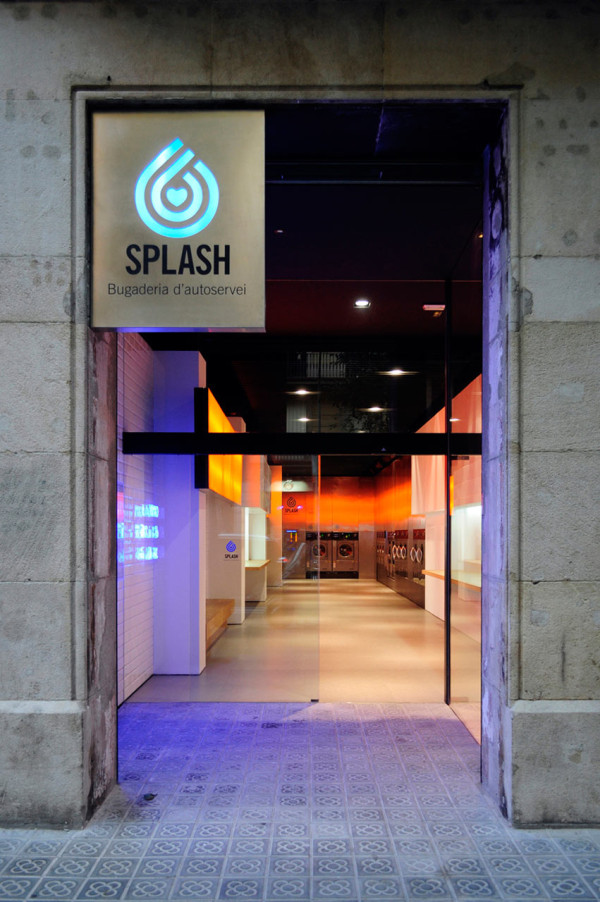 So Fresh and So Clean: Splash Laundromat by Frederic Perers in main interior design  Category