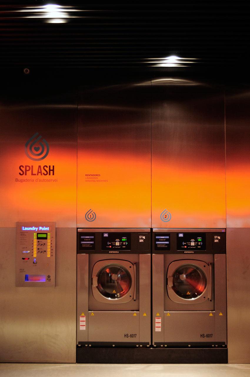 SPLASH Laundromat in Barcelona
