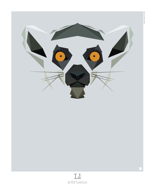 Graphic Art: Animal Alphabet by Mat Mabe in main art  Category