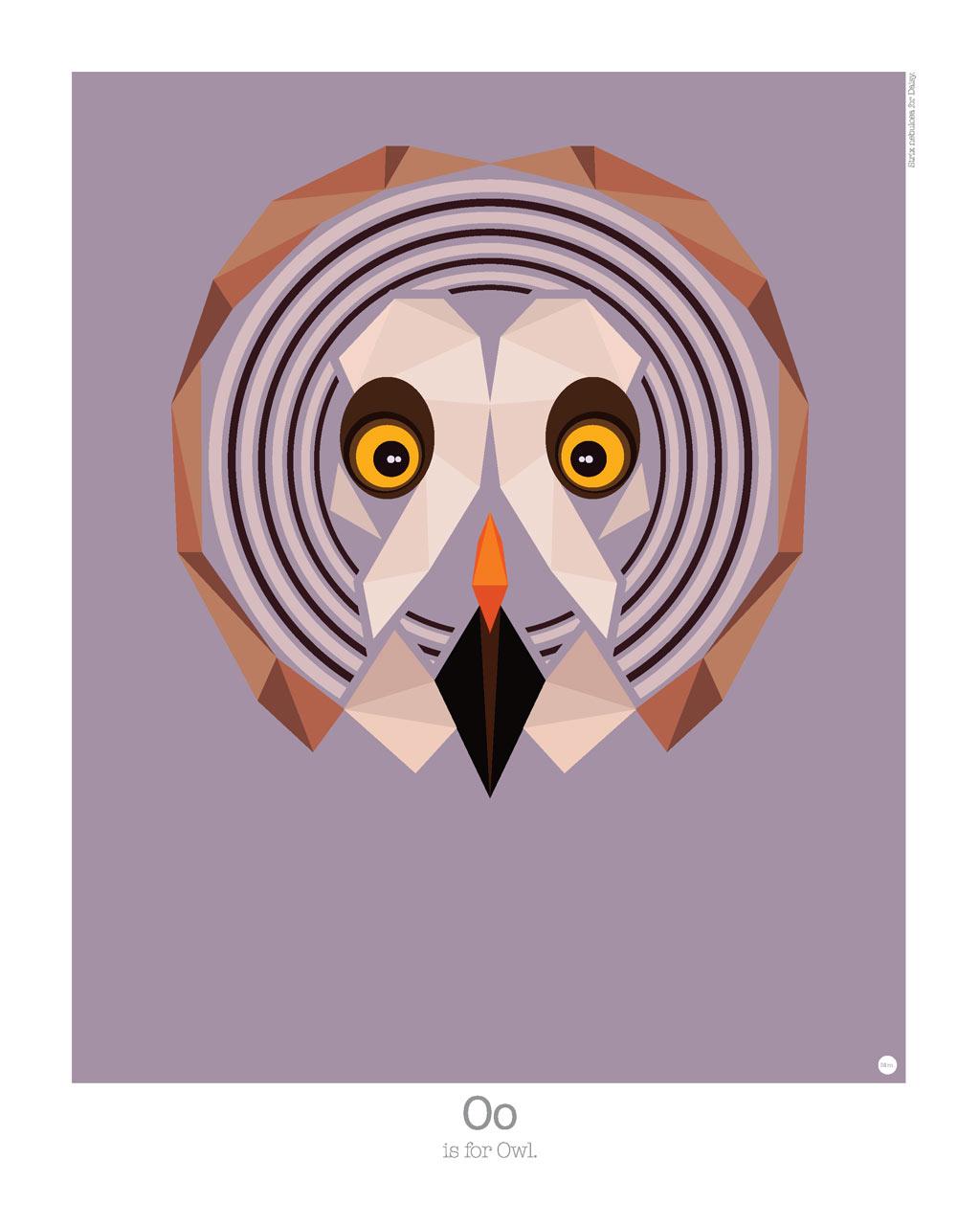 Graphic Art: Animal Alphabet by Mat Mabe