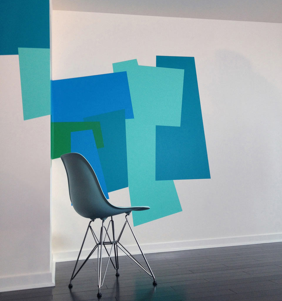 Color Blocking Wall Decals By Mina Javid For Blik ...