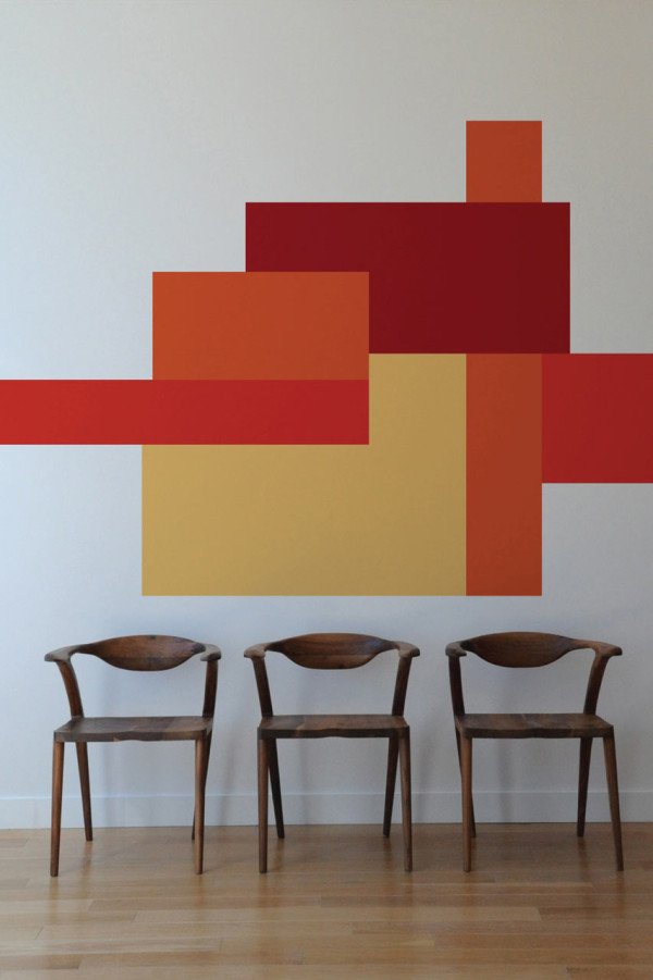 blik-mina-javid-wall-decals-orange-abstract-art