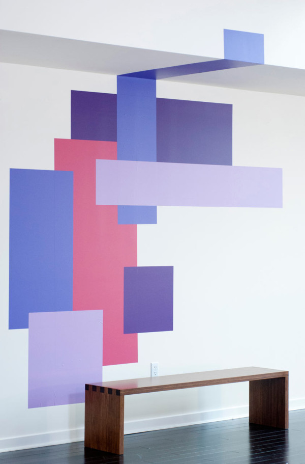 Blik Mina Javid Wall Decals Purple