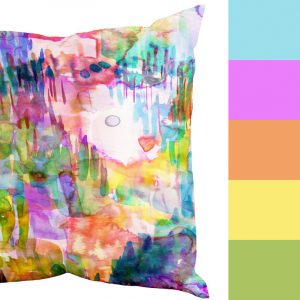 Amy Sia's Colorful Cushions