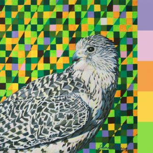 Sairah Ali's Acrylic Animal Paintings