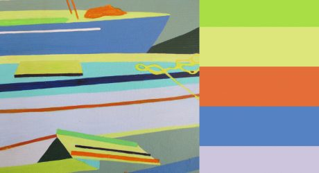 Siri Tenden's Graphic Nautical Paintings