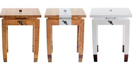 Workshop.Chic Side Table by Daniel Moyer