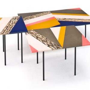 Fishbone Table Collection by Patricia Urquiola for Moroso