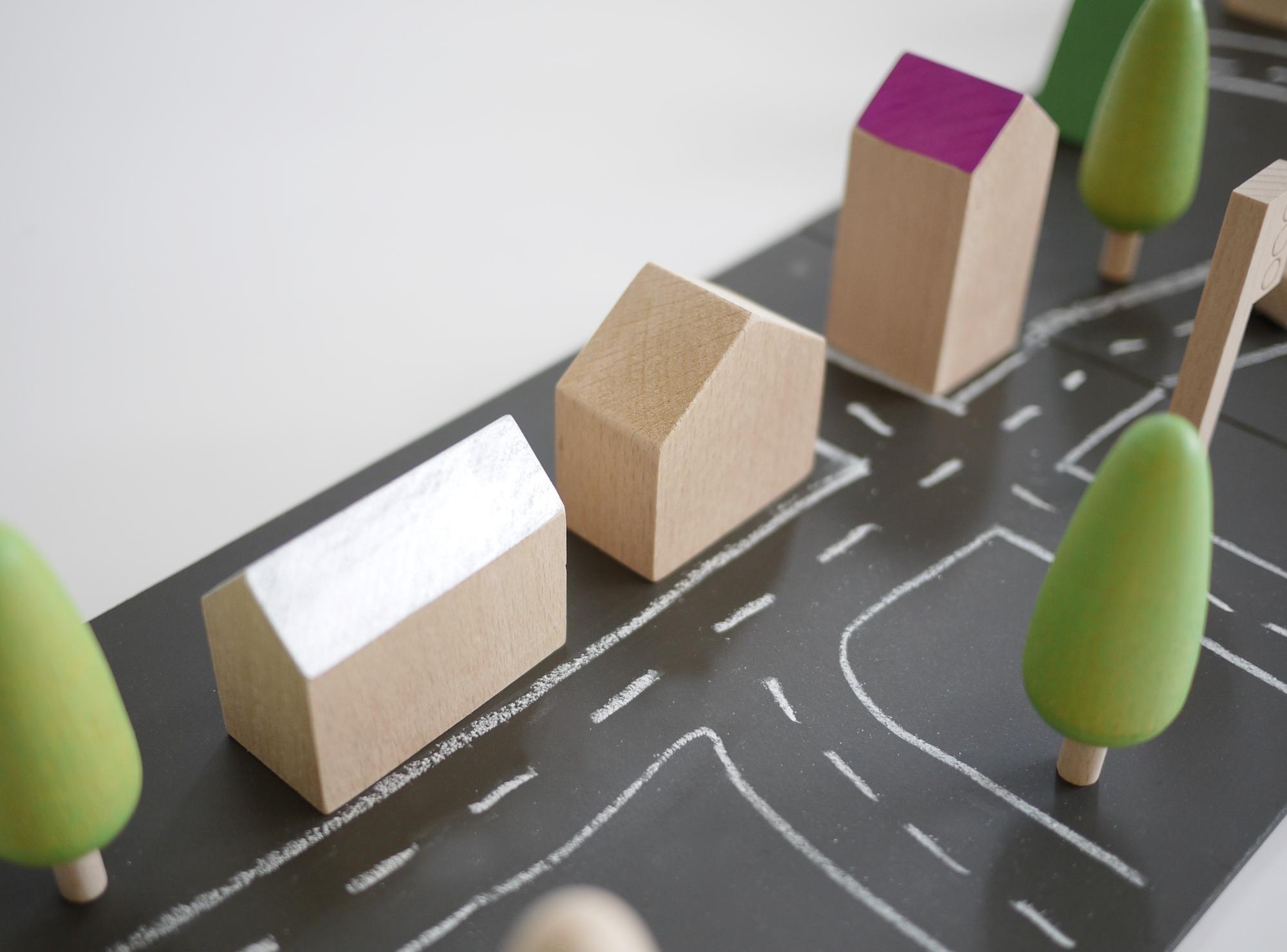 Minimalist Children's Toys: Machi by Kukkia