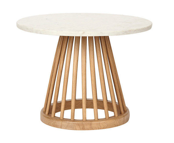 Marble Top Fan Table Tom Dixon.