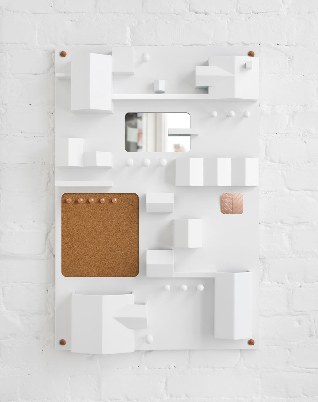 suburbia modern wall storage - design milk