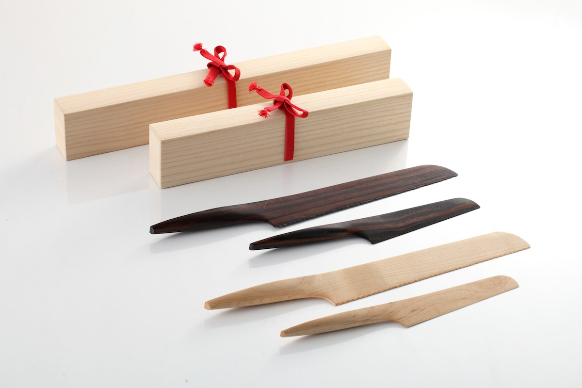 Wooden Knives: Fusion by Ponti Design Studio