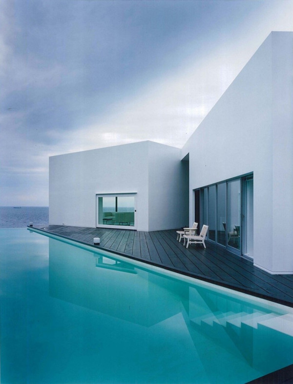 Modern Houses With Pool Contemporary Oceanfront Home And Pool By Architectural Firm ANDO
