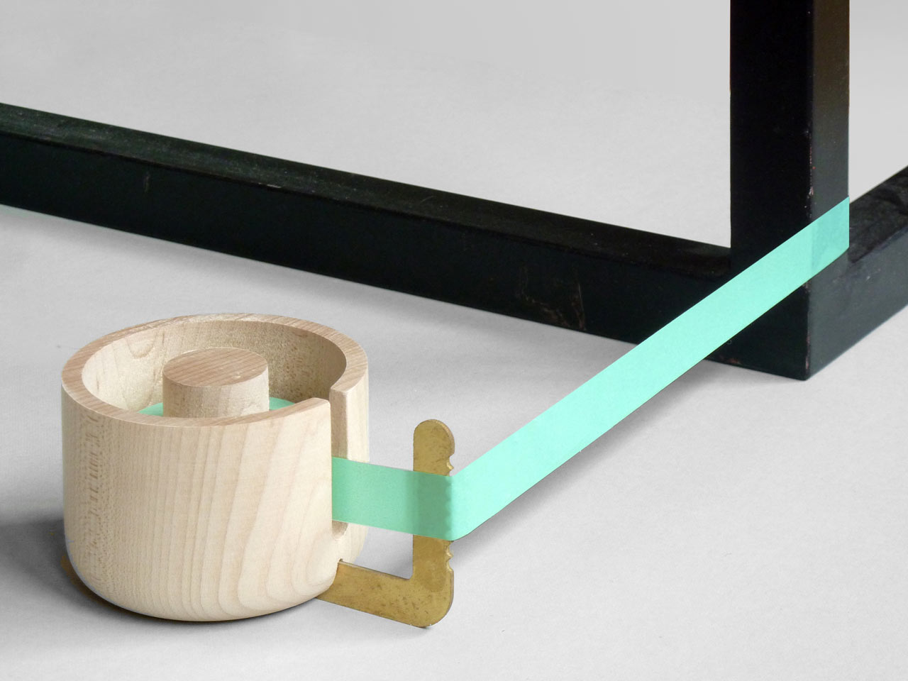 Want: Present&Correct Brass and Wood Tape Dispenser