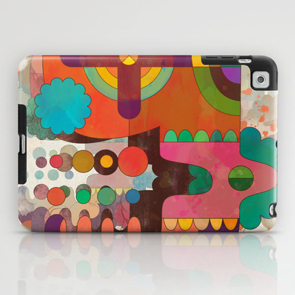 Fresh From The Dairy: Abstract iPad Cases in technology main art  Category