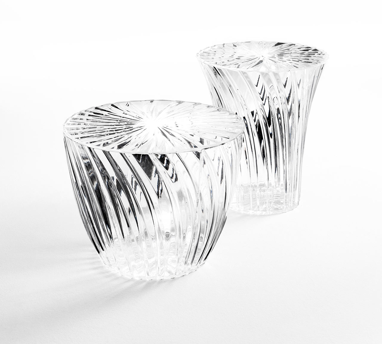 sparkle-stool-table-kartell-modern-crystal