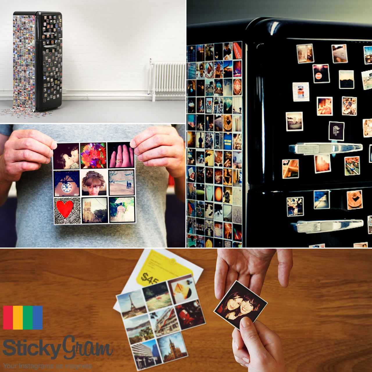 Sticky9 Instagram Magnets Giveaway