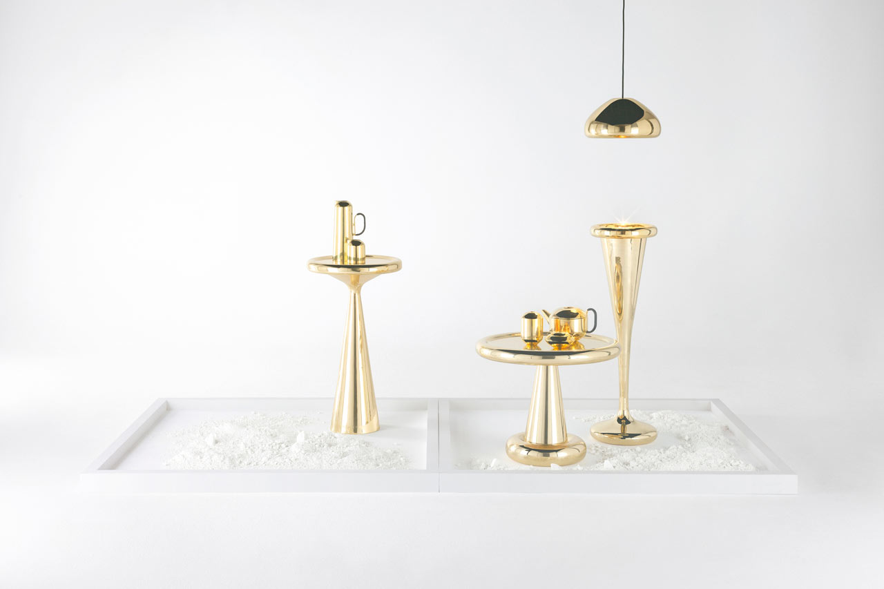 Tom Dixon's New Monolithic Furniture = I Like It!