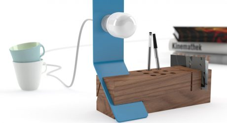 Edi Multifunctional Desk Lamp by Valsecchi 1918