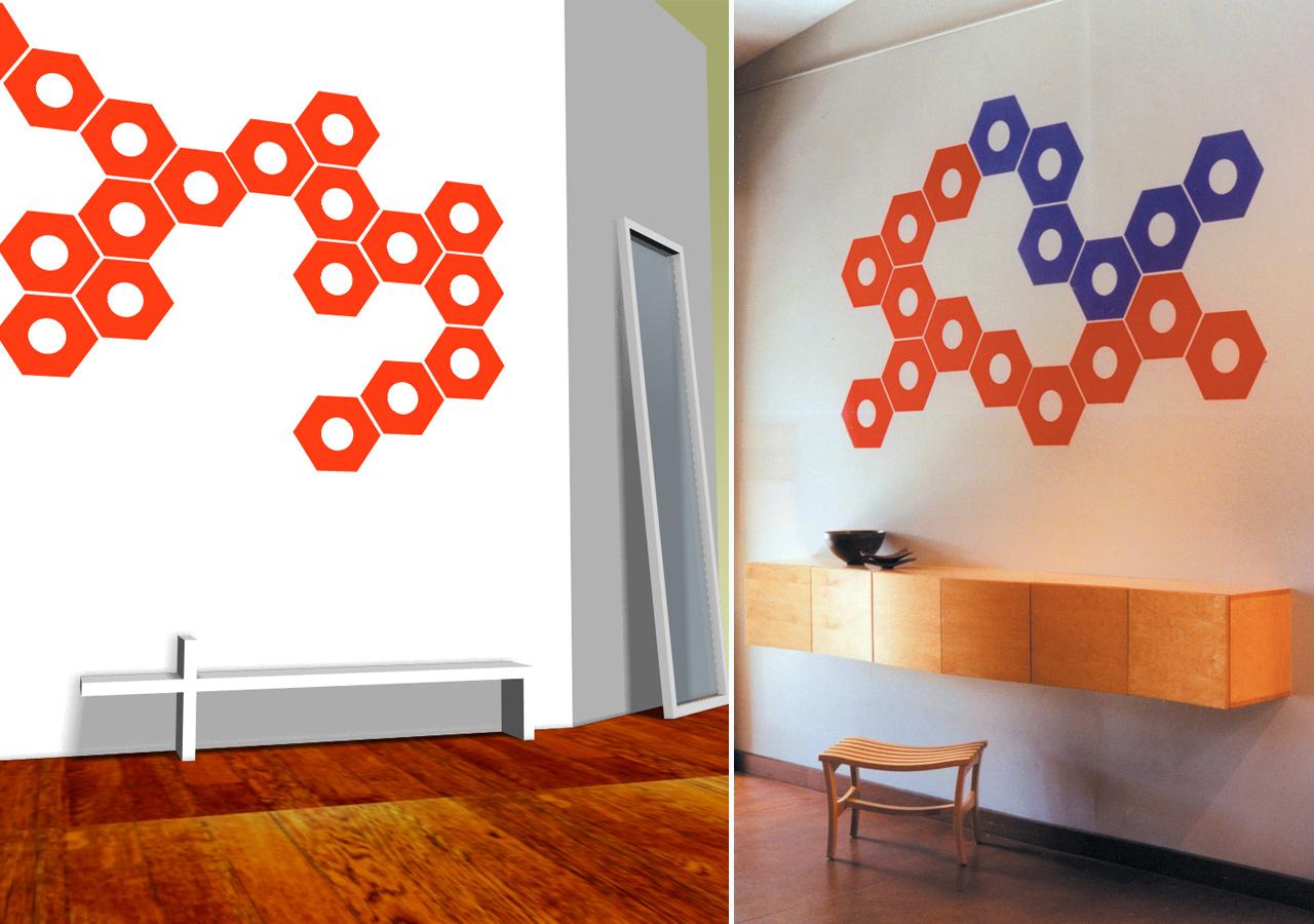 work-blik-lugs-on-wall