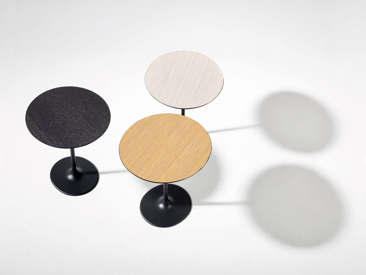Dizzie tables by Lievore Altherr Molina