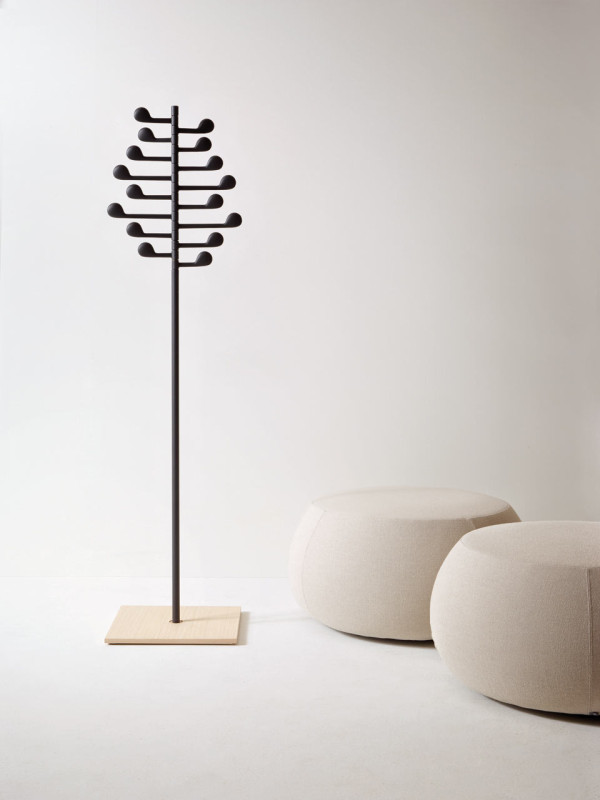Song freestanding coatrack by Lievore Altherr Molina