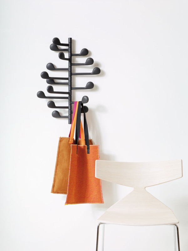 Song wall coatrack by Lievore Altherr Molina