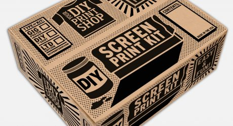 Giveaway: DIY Print Shop Screen Printing Kit