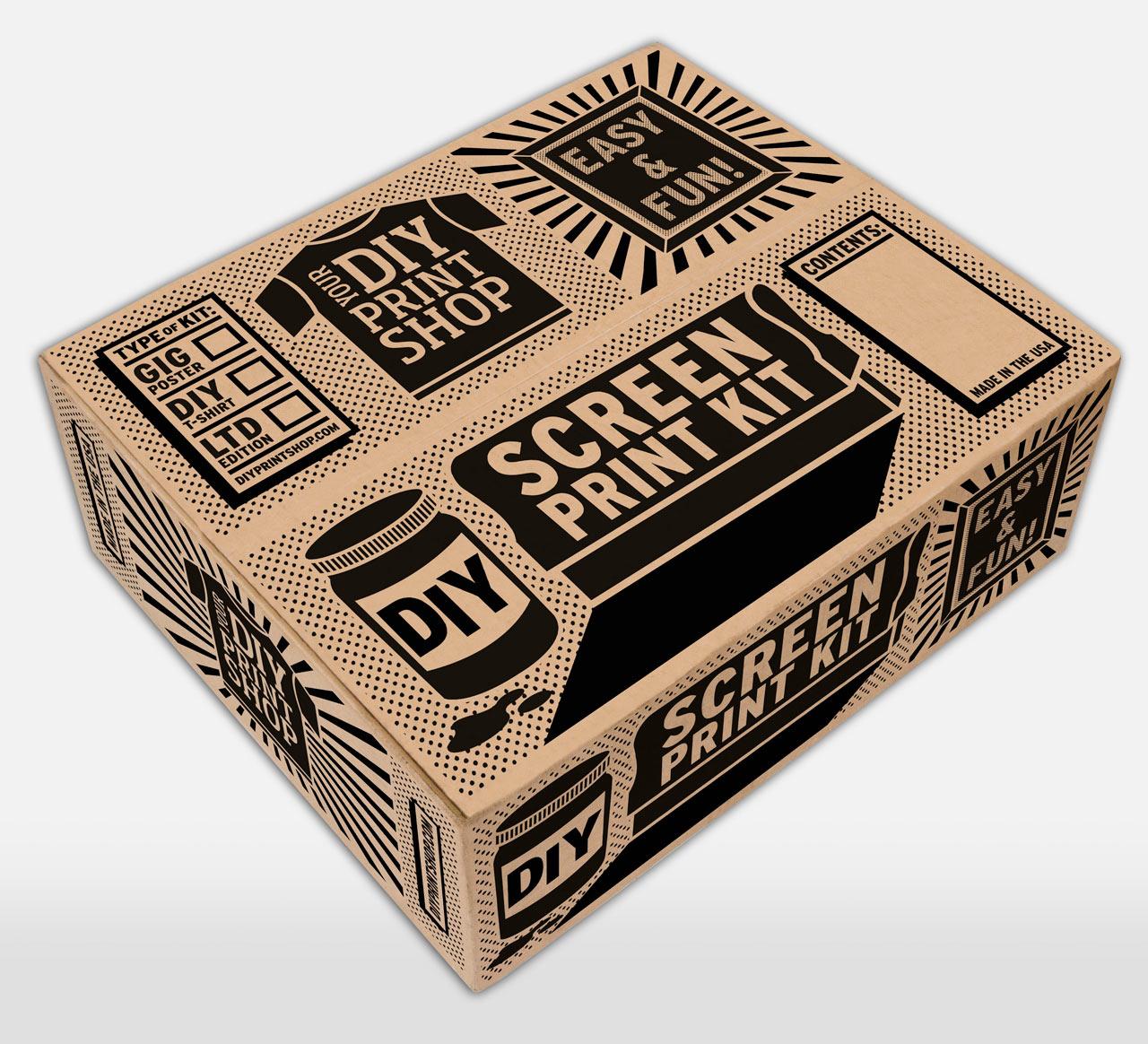 Giveaway: DIY Print Shop Screen Printing Kit