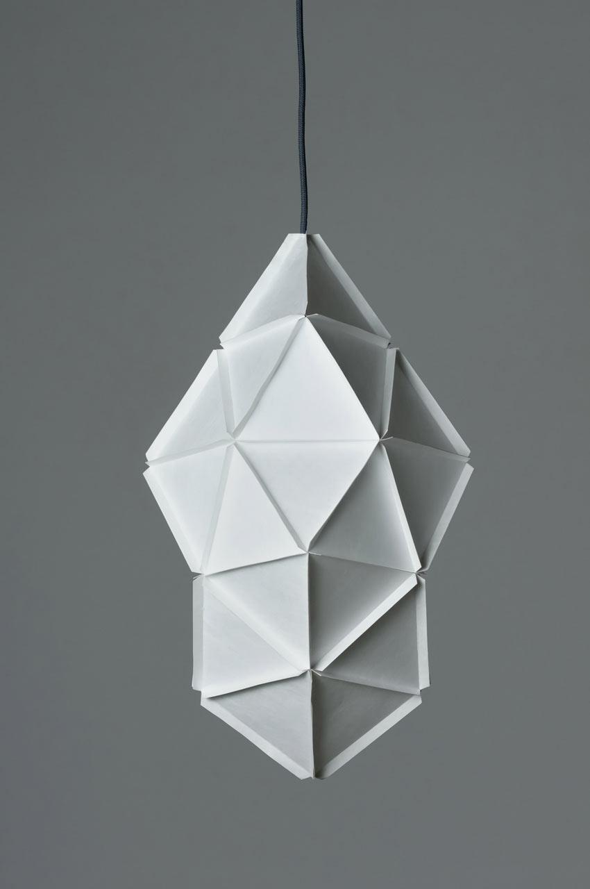 Geometric KOGI Lamp by Studio Joa Herrenknecht