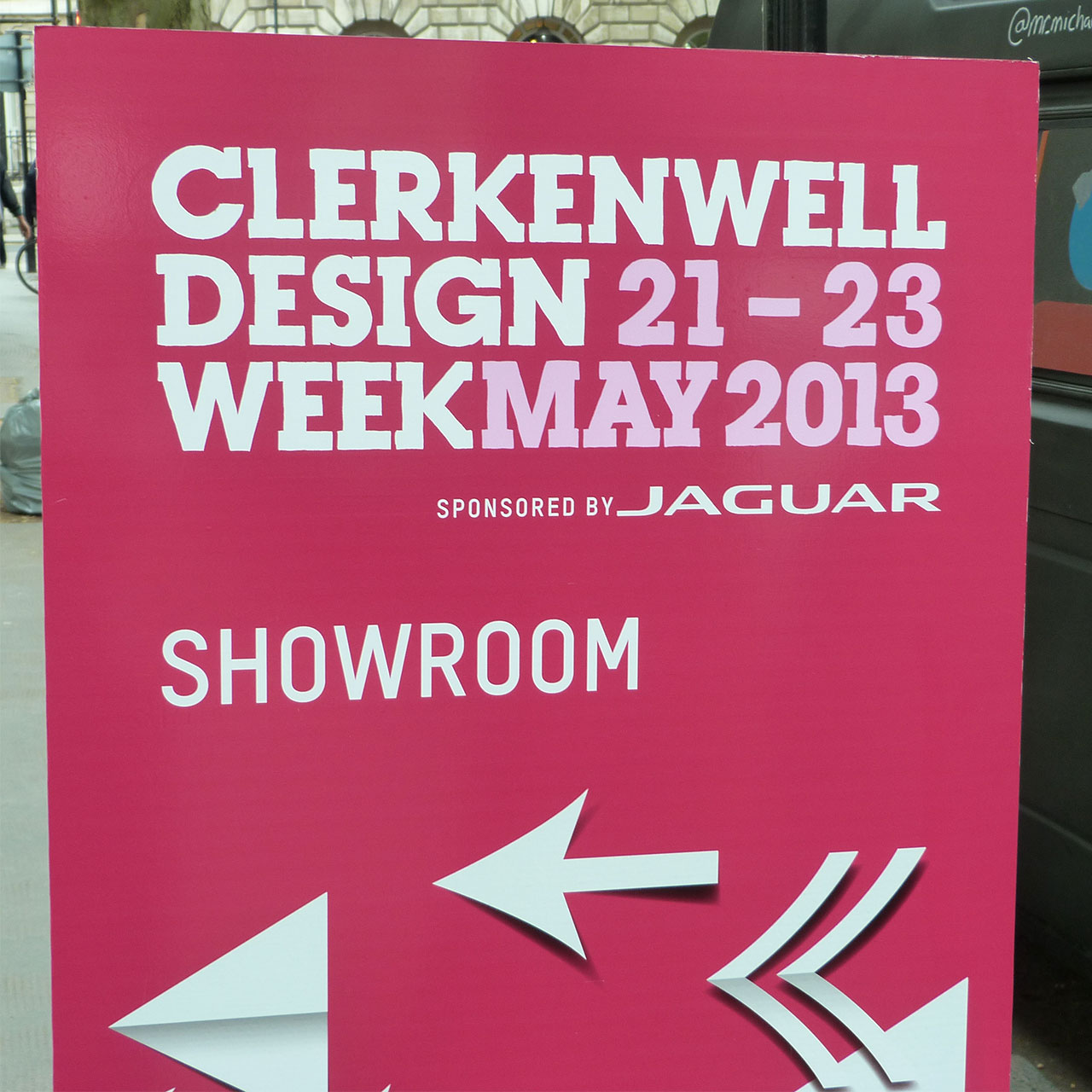 Favorites from Clerkenwell Design Week 2013