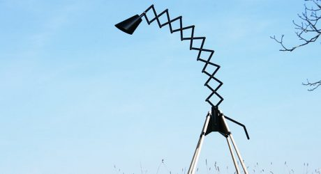GIRAFFE Floor Lamp by BERNHARD BURKARD
