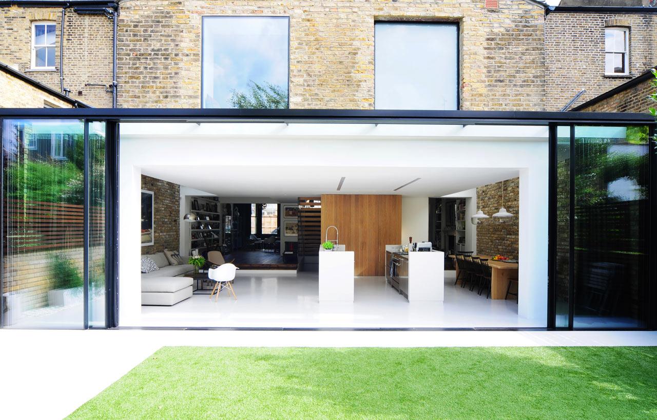 Two houses become one homemade by bureau de change - Bureau de change design ...