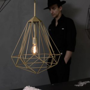 Hanging Light Gems: Diamonds by JSPR
