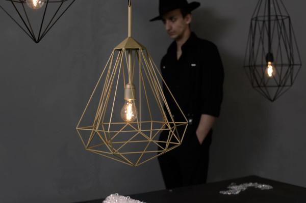 Hanging Light Gems: Diamonds by JSPR