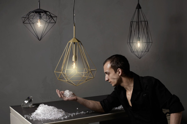 Hanging Light Gems: Diamonds by JSPR in main home furnishings  Category