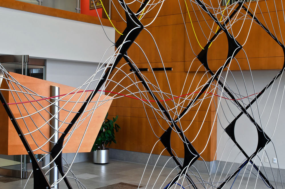 Signals Sculptural Installation by McConnell Studios