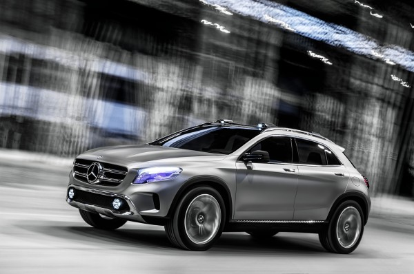 GLA Concept by Mercedes Benz in technology main  Category