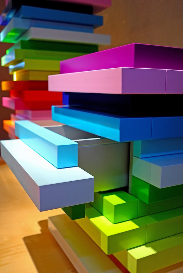 Rainbow Storage by emmanuelle moureaux architecture + design in main home furnishings  Category