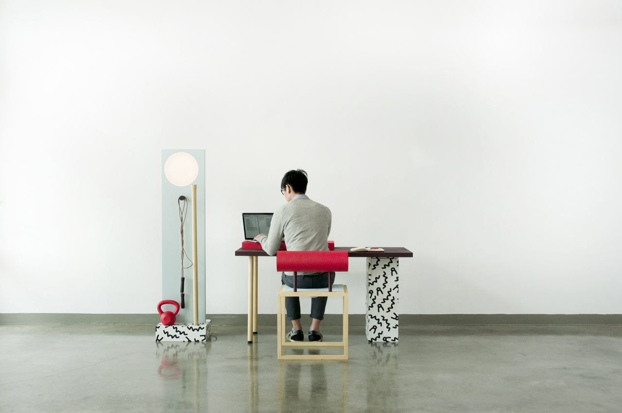 No, Sweat! Workspace Workout Furniture