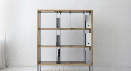 Organize Your Books Like File Folders: TAB Bookcase by EJ Pak