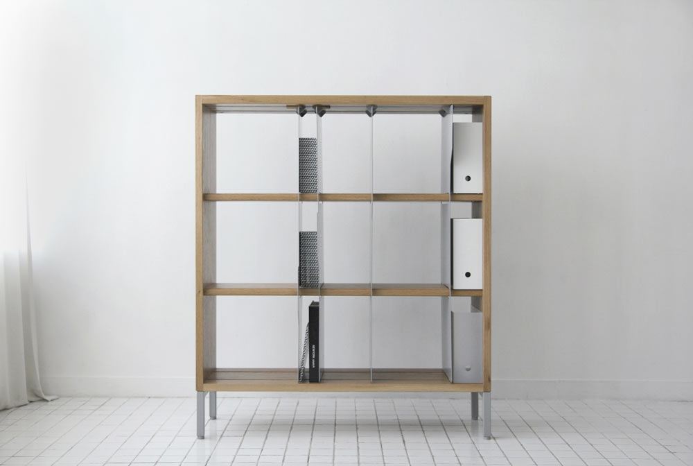 Organize Your Books Like File Folders: TAB Bookcase by EJ Pak