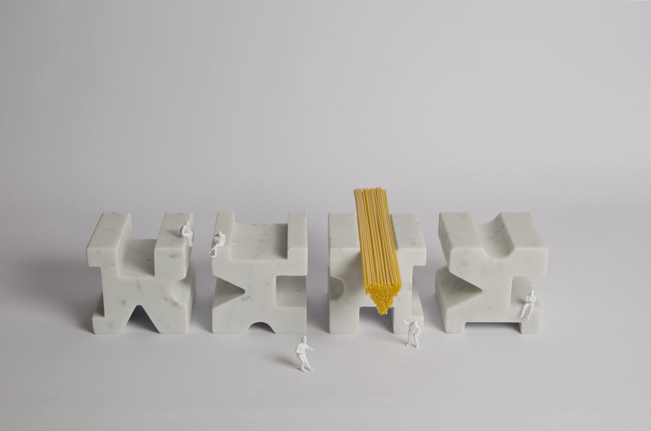 Measure Your Spaghetti: TYPE by Studio Lievito