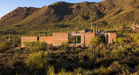 Take In The Mountain Views: Tucson Mountain Retreat by DUST